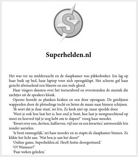 Superhelden.nl schrijftips boek schrijven singularity miriam wesselink4