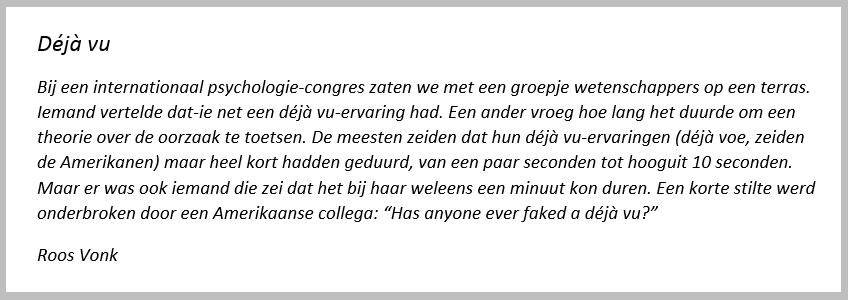 Ikje Deja Vu schrijftips boek schrijven Singularity Miriam Wesselink