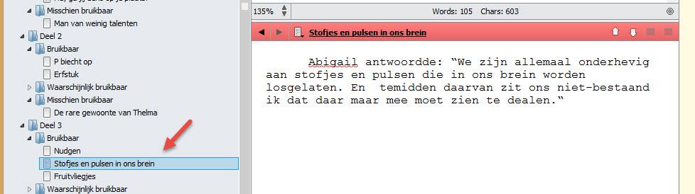 Scrivener 2 schrijftips boek schrijven singularity miriam wesselink23