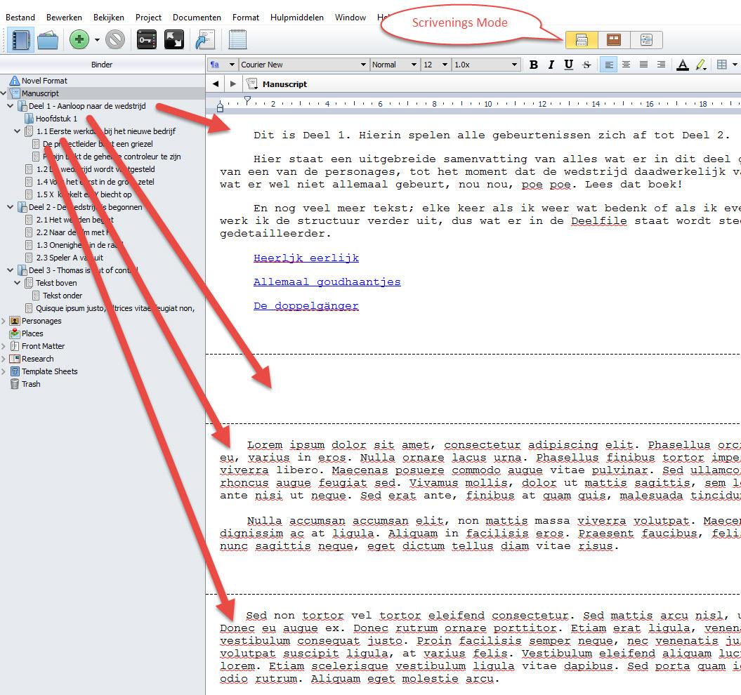 Scrivener3 boek schrijven schrijftips singularity miriam wesselink16